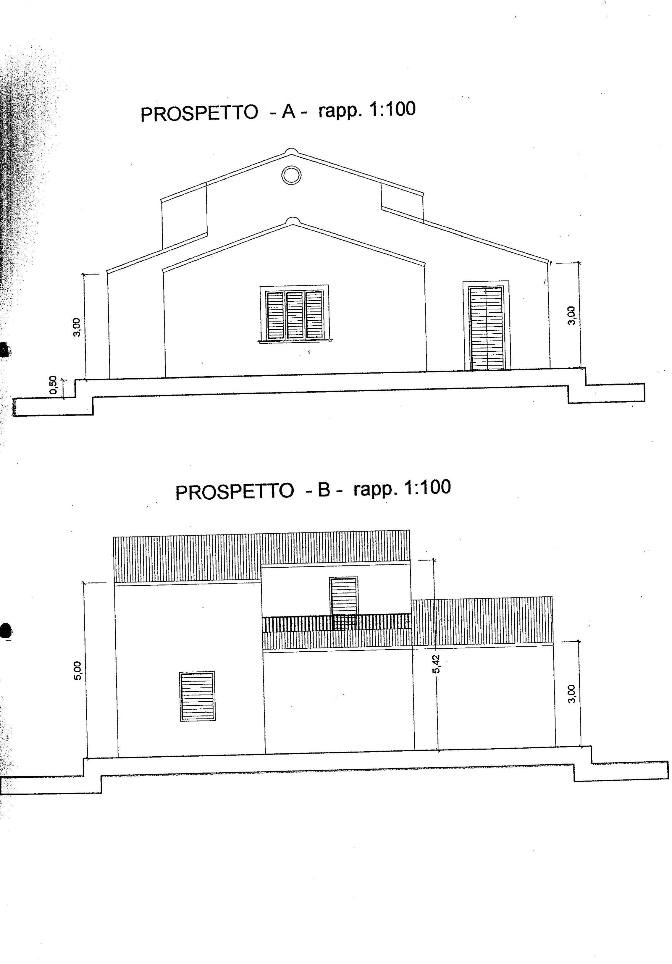 Ispica villetta da rifinire at sicily immobiliare noto for Case a pianta aperta